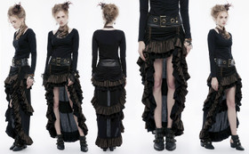 Detail image to PUNK RAVE Steampunk Skirt