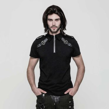 PUNK RAVE Gothic Polo Top