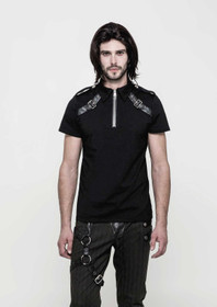 Detailbild zu PUNK RAVE Gothic Polo Top