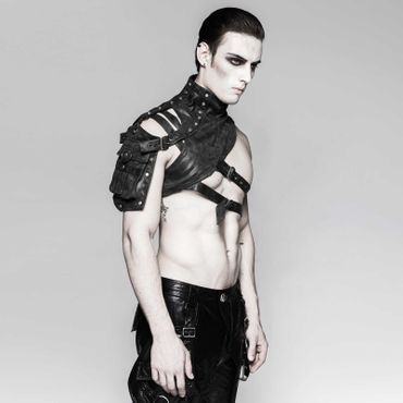 PUNK RAVE Shoulder Harness Brown