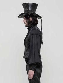 Detailbild zu PUNK RAVE Gothic Brokatweste Schwarz