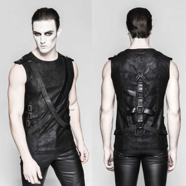 PUNK RAVE Harness Tank Top