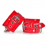 HONOUR PVC Hand Cuffs Red 001