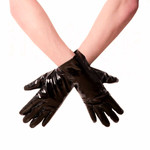 HONOUR PVC Short Gloves Black 001