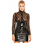 HONOUR Temptress PVC Dress w. Lace 001