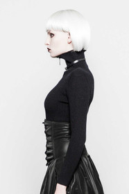 Detailbild zu PUNK RAVE Turtleneck Black