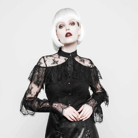 PUNK RAVE Victorian Lace Blouse