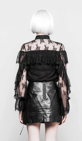 Detail image to PUNK RAVE Victorian Lace Blouse