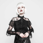 PUNK RAVE Victorian Lace Blouse 001