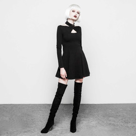 PUNK RAVE Black Swinger Dress