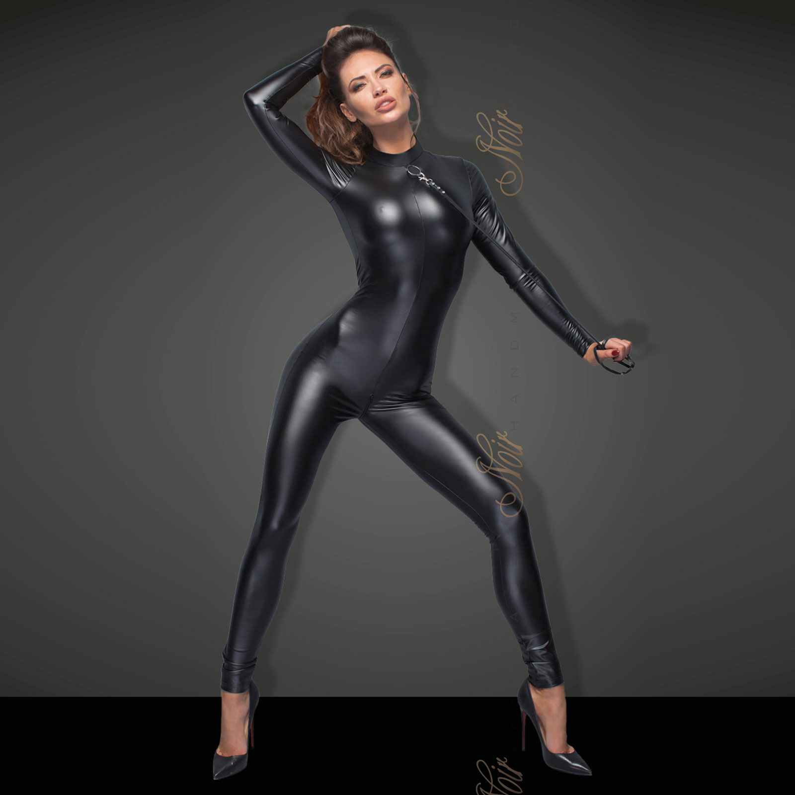 NOIR HANDMADE All-in Catsuit incl. Lead