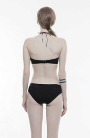 Detailbild zu PUNK RAVE Dark Swimwear Zip Slip