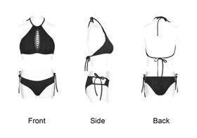 Detail image to PUNK RAVE Gothic Bikini Set