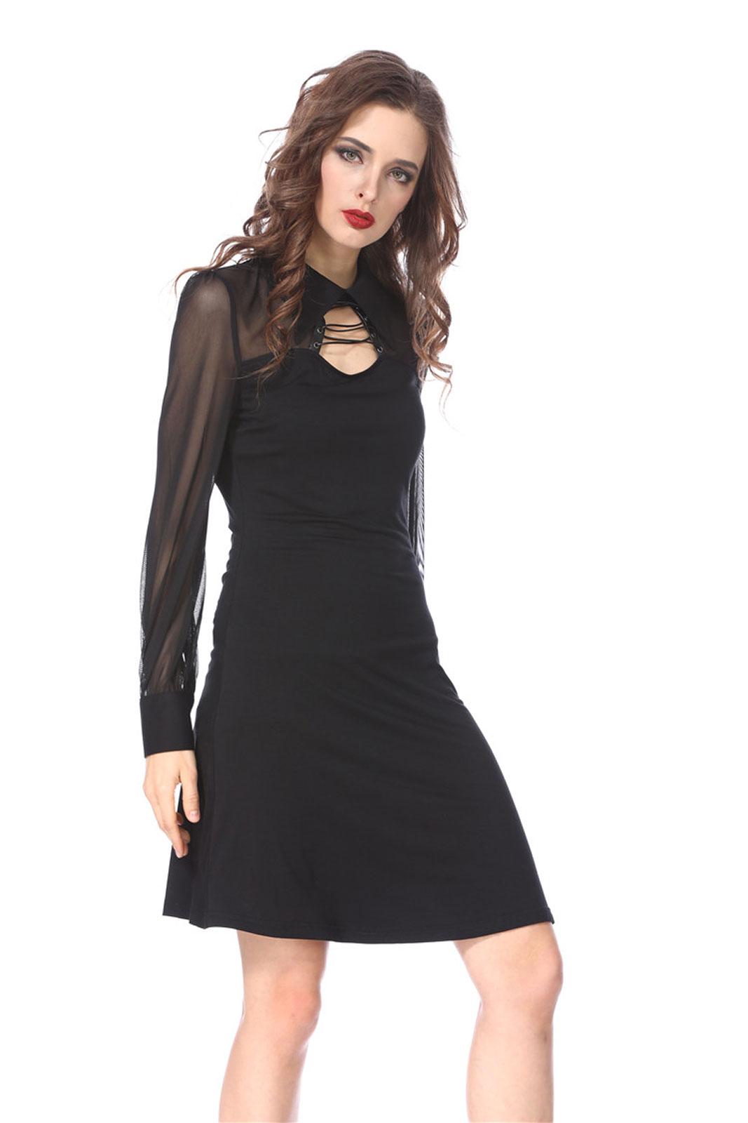 DARK IN LOVE Kleines Schwarzes Kleid