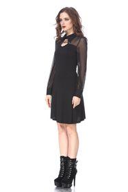 Detail image to DARK IN LOVE Little Black Dress