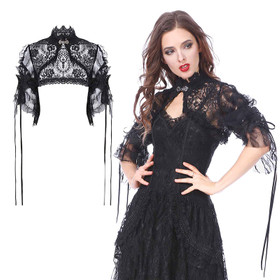 DARK IN LOVE Black Lace Bolero
