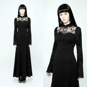 Detailbild zu PUNK RAVE Gothic Noblesse Dress