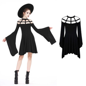Detailbild zu DARK IN LOVE Grid Neck Dress