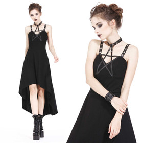 Detailbild zu DARK IN LOVE Pentagramm Kleid