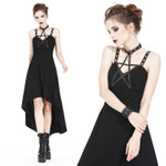 DARK IN LOVE Pentagramm Kleid 001