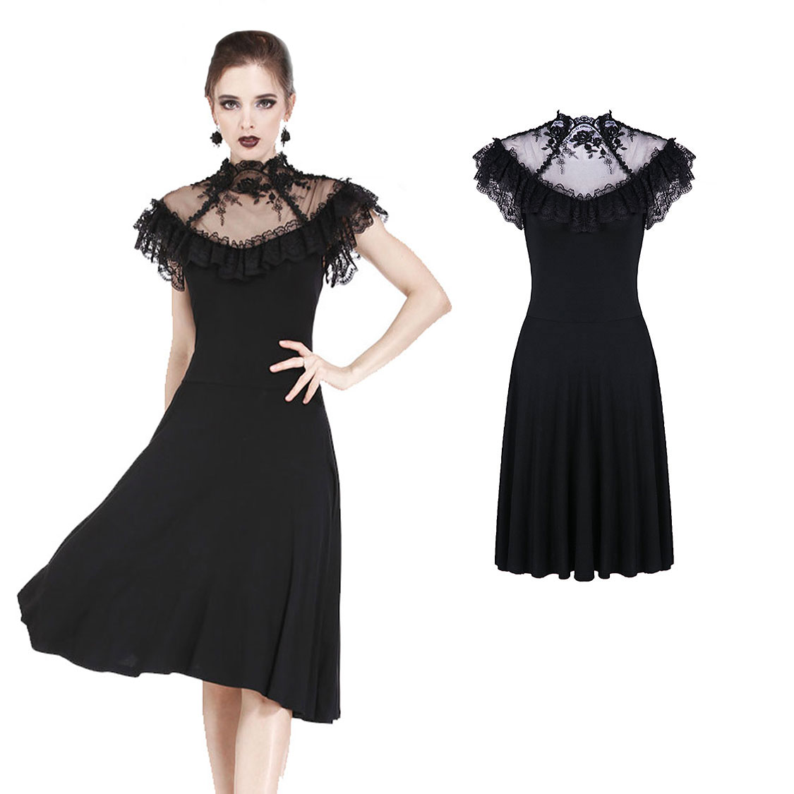 long schwarz kleid for funeral authentic 4bbf7 11a0a