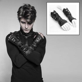 PUNK RAVE Cyber Metal Gauntlets