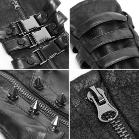 Detail image to PUNK RAVE Cyber Metal Gauntlets