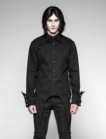 Detail image to PUNK RAVE Gothic Shirt Black