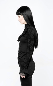 Detail image to PUNK RAVE Victorian Blouse Top