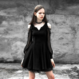 PUNK RAVE Gothic Creed Dress