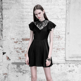 PUNK RAVE Gothic Kleid Burial Dress
