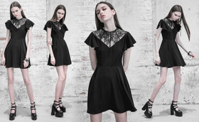 Detail image to PUNK RAVE Gothic Burial Dress
