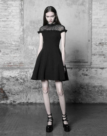 Detailbild zu PUNK RAVE Black Lotus Dress
