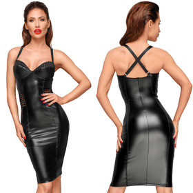 NOIR HANDMADE Powerwetlook Cocktail Dress