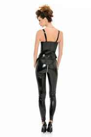 Detail image to PATRICE CATANZARO Josie PVC Strap Top