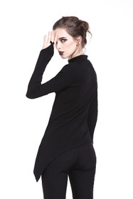 Detail image to DARK IN LOVE Gothic Longsleeve Top
