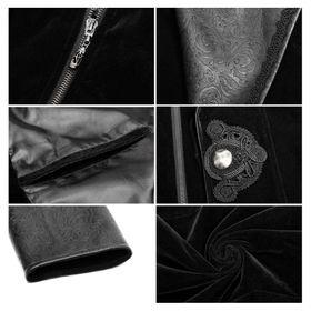Detailbild zu PUNK RAVE Edler Gothic Mantel (Variabel)