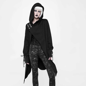 PUNK RAVE Girls Gothic Cardigan Coat