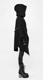 Detail image to PUNK RAVE Girls Gothic Cardigan Coat
