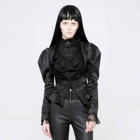 Detail image to PUNK RAVE Black Gothic Jacket