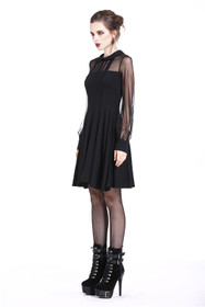 Detail image to DARK IN LOVE Gothic Princess Dress
