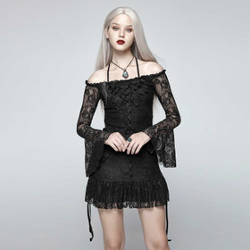 PUNK RAVE Gothic Beauty Tunic Top
