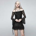 PUNK RAVE Gothic Beauty Tunika 001