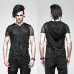 PUNK RAVE Netz Hoodie Shirt 001