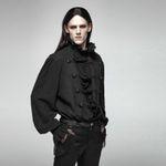 PUNK RAVE Gothic Vampyre Shirt Black 001