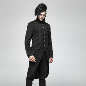 PUNK RAVE Gothic Baroque Tailcoat (Cutayway)