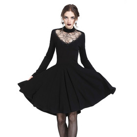 DARK IN LOVE Spidergirl Gothic-Kleid