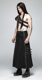 Detail image to PUNK RAVE Warrior Men's Skirt