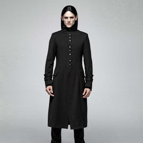 PUNK RAVE Gothic Priest Coat