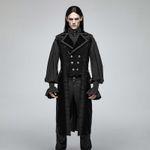 PUNK RAVE Baroque Coat Sleeveless 001